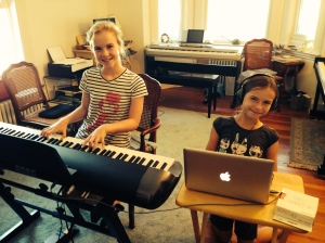 Composing 101 Summer 2014: Final cuts during our last class